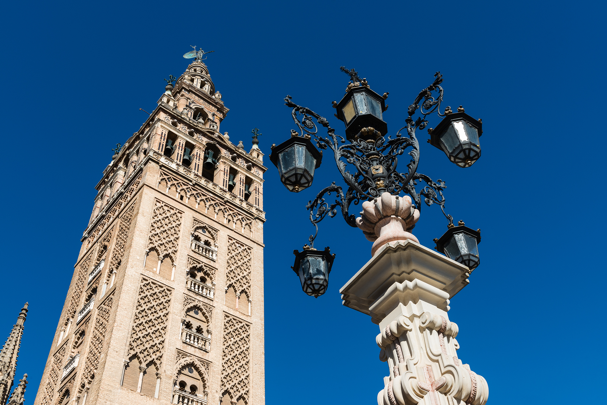 Tower and spire of The Giralda