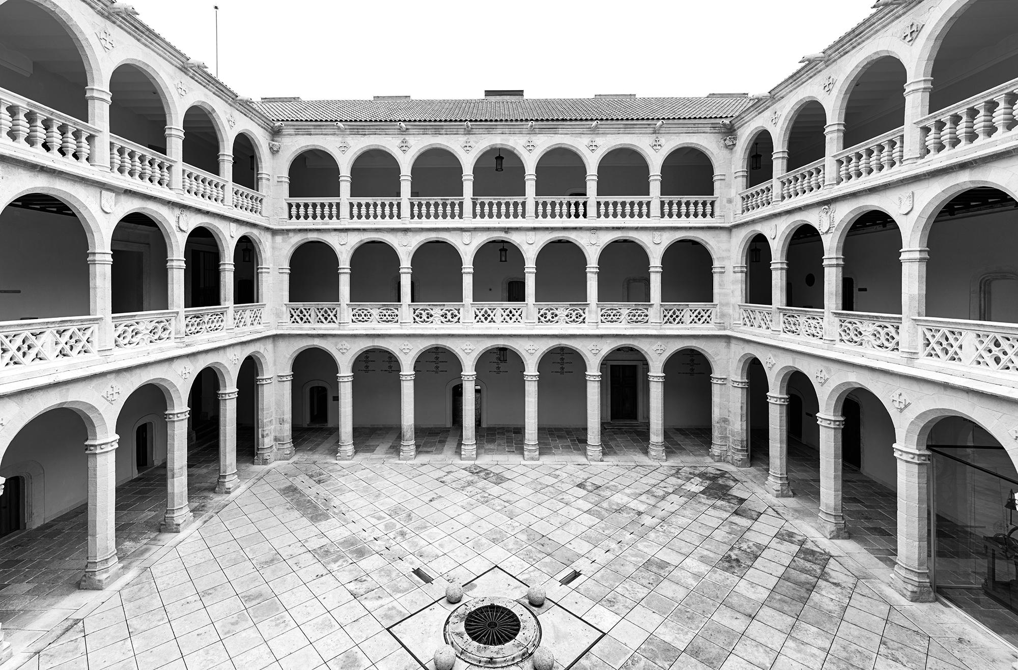 Palacio de Santa Cruz of the University of Valladolid