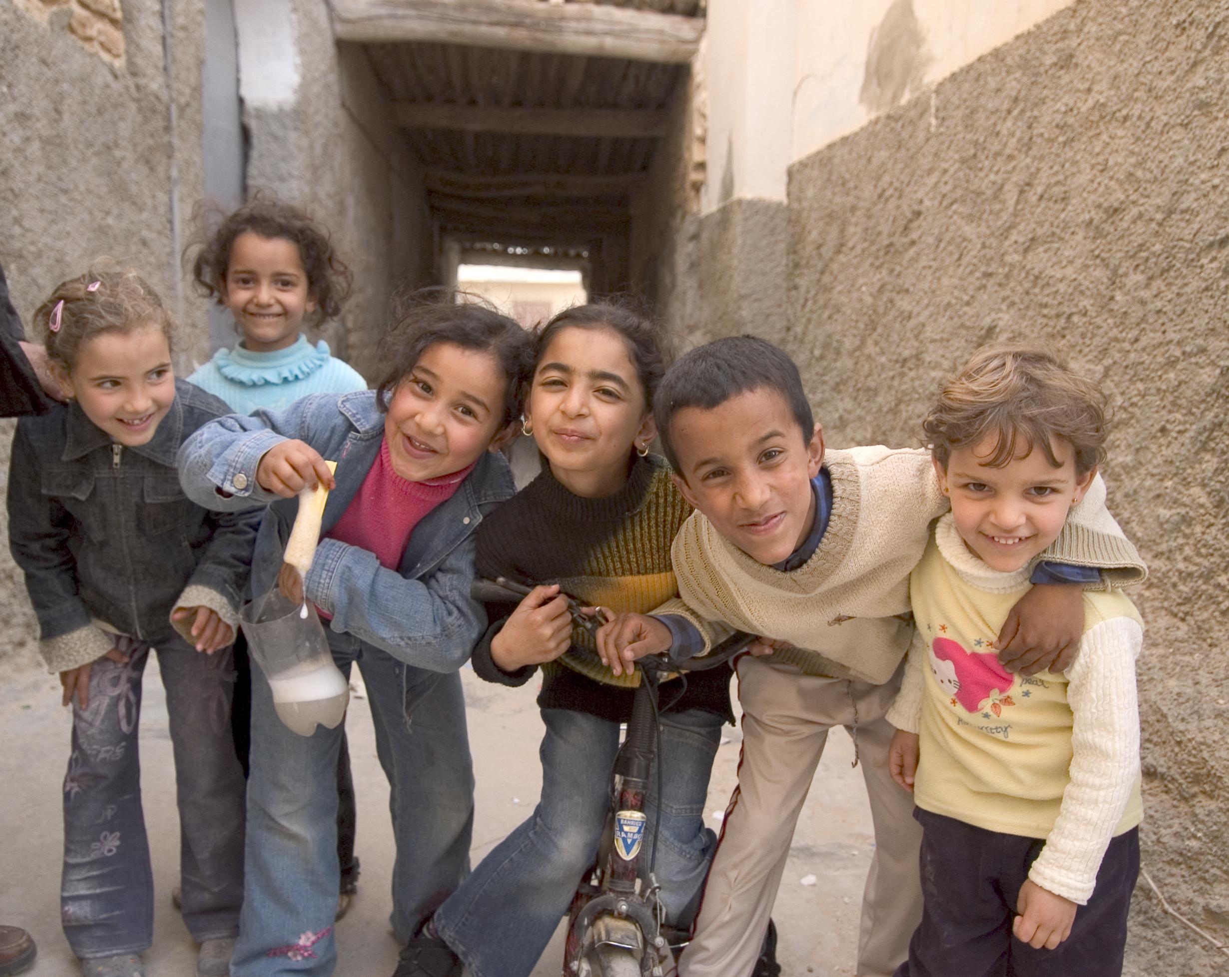 Tunisian kids