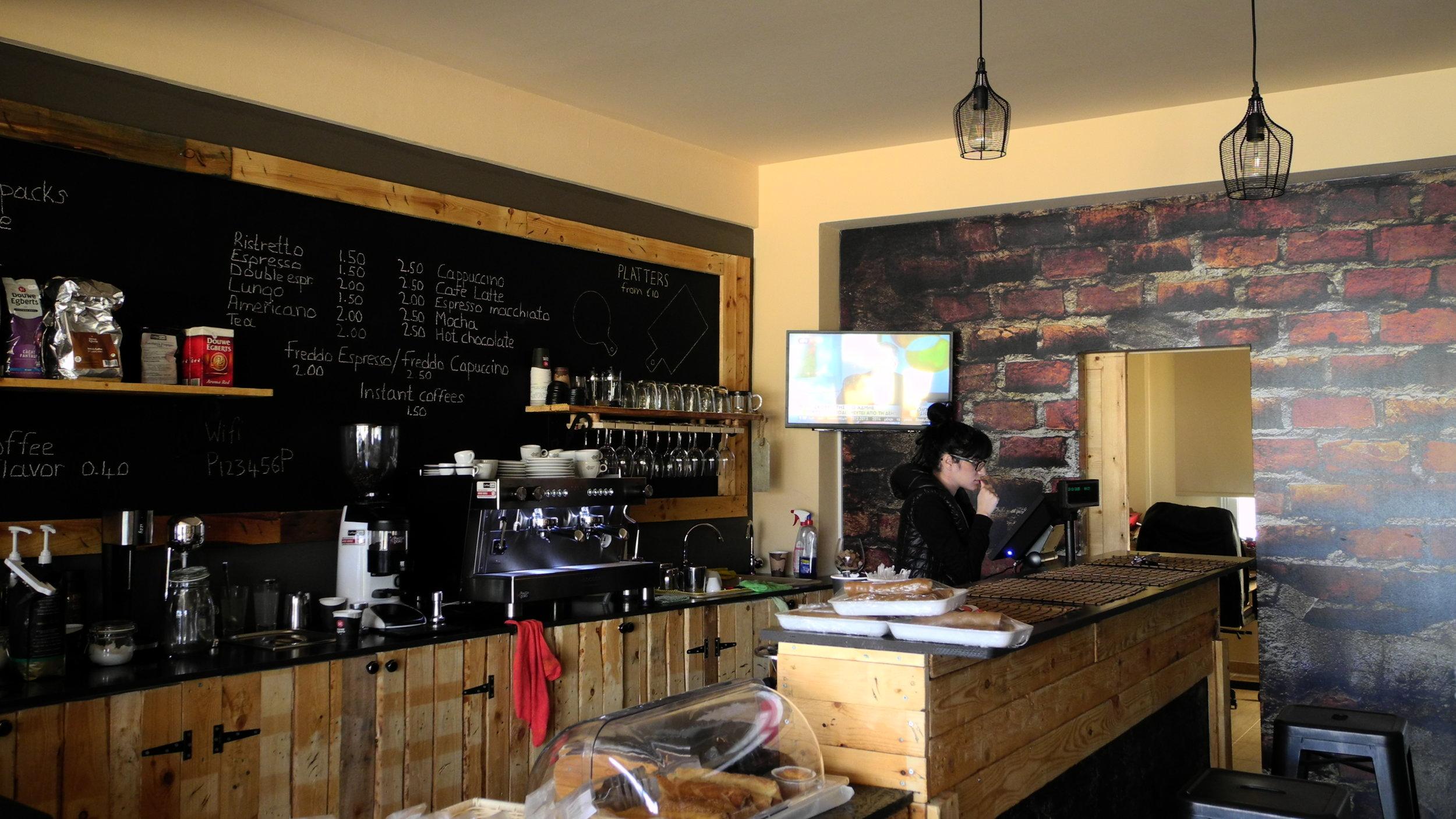 PALETTO ESPRESSO COFFEE BAR DESIGN