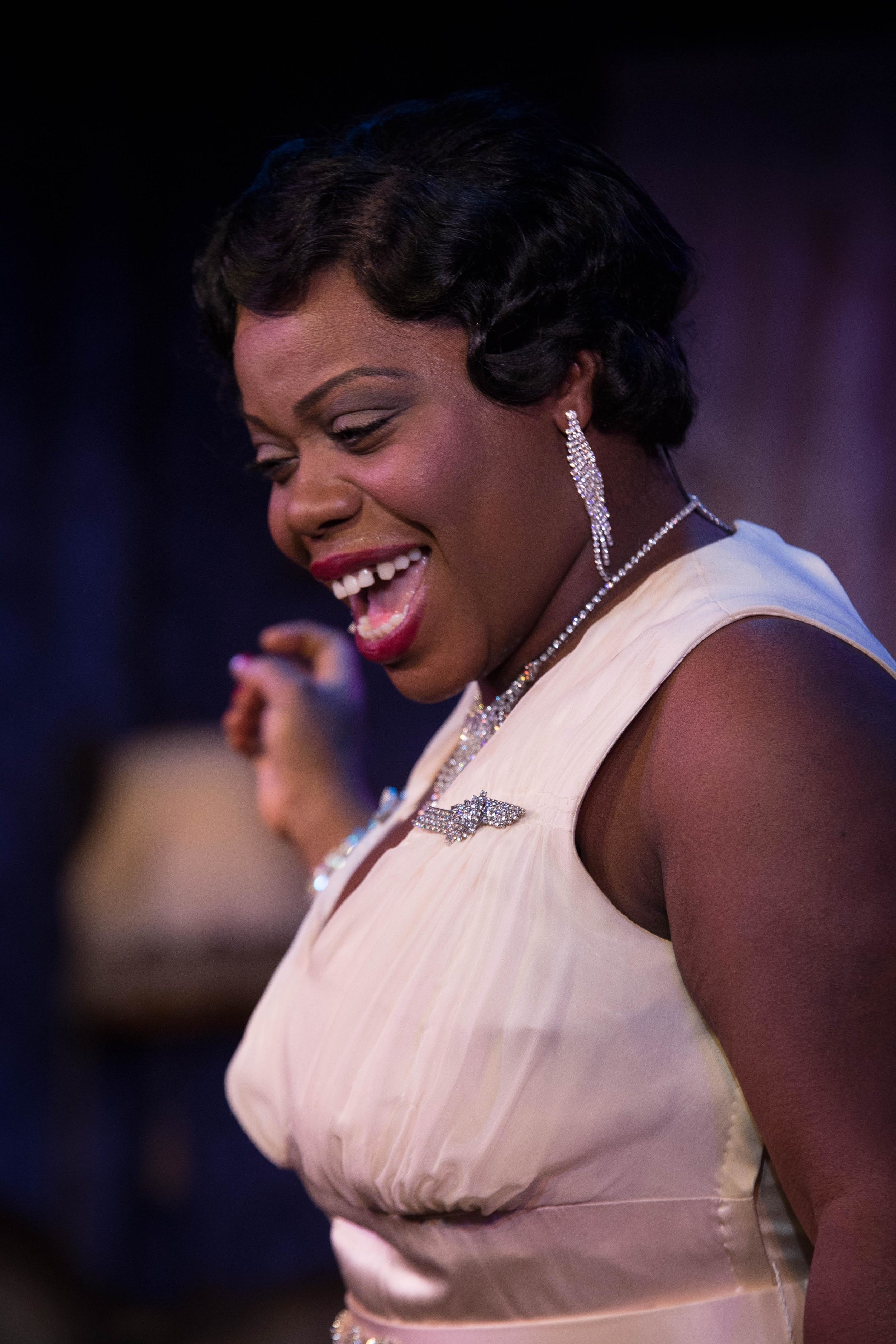 Milwaukee Repertory Theater -  The Devil's Music The Life and Blues of Bessie Smith  in the Stackner Cabaret. Featuring Zonya Love as Bessie Smith.
