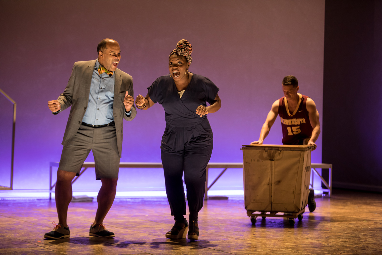 THE PARCHMAN HOUR  - courtesy of the Guthrie Theatre. Photos by Dan Norman.