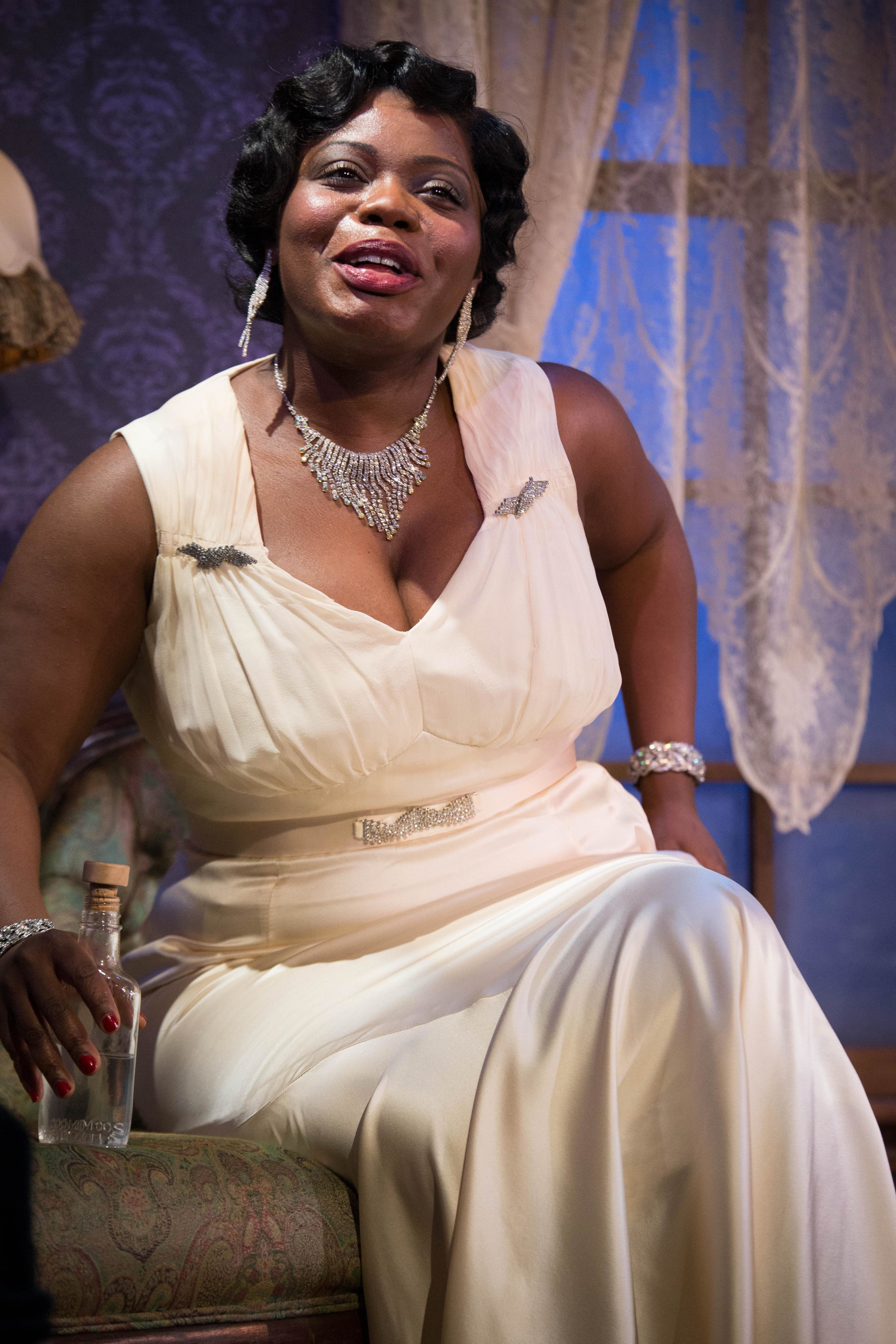 Milwaukee Repertory Theater -  The Devil's Music The Life and Blues of Bessie Smith  in the Stackner CabaretFeaturing Zonya Love as Bessie Smith.