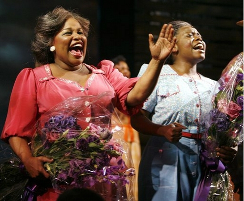 The Color Purple on Broadway  - Chaka Khan and Zonya Love.