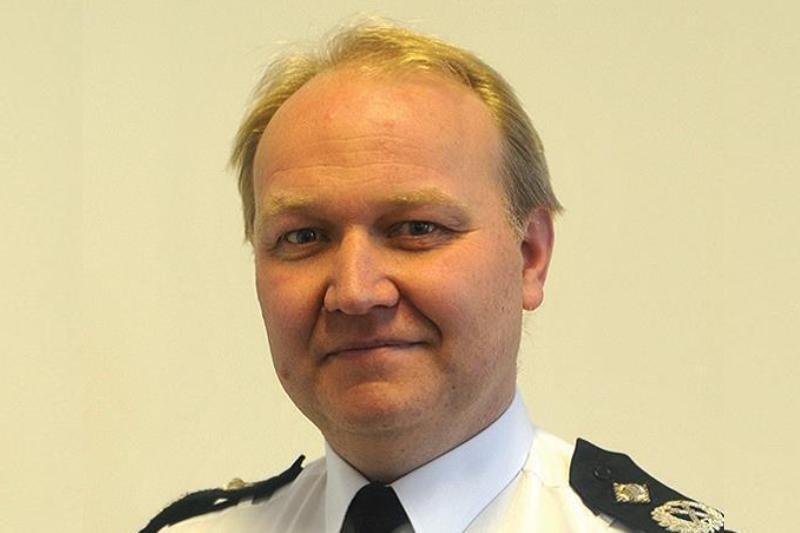Giles York Sussex Police Chief Constable