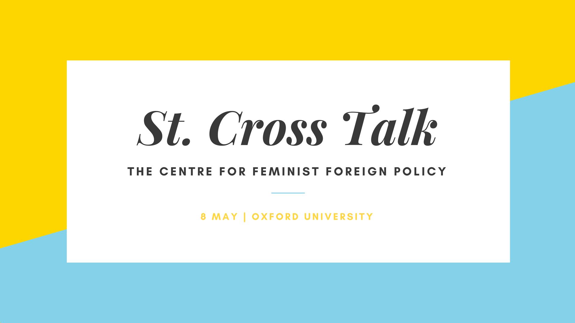 Marissa Conway Branding Design Oxford Feminist Foreign Policy website