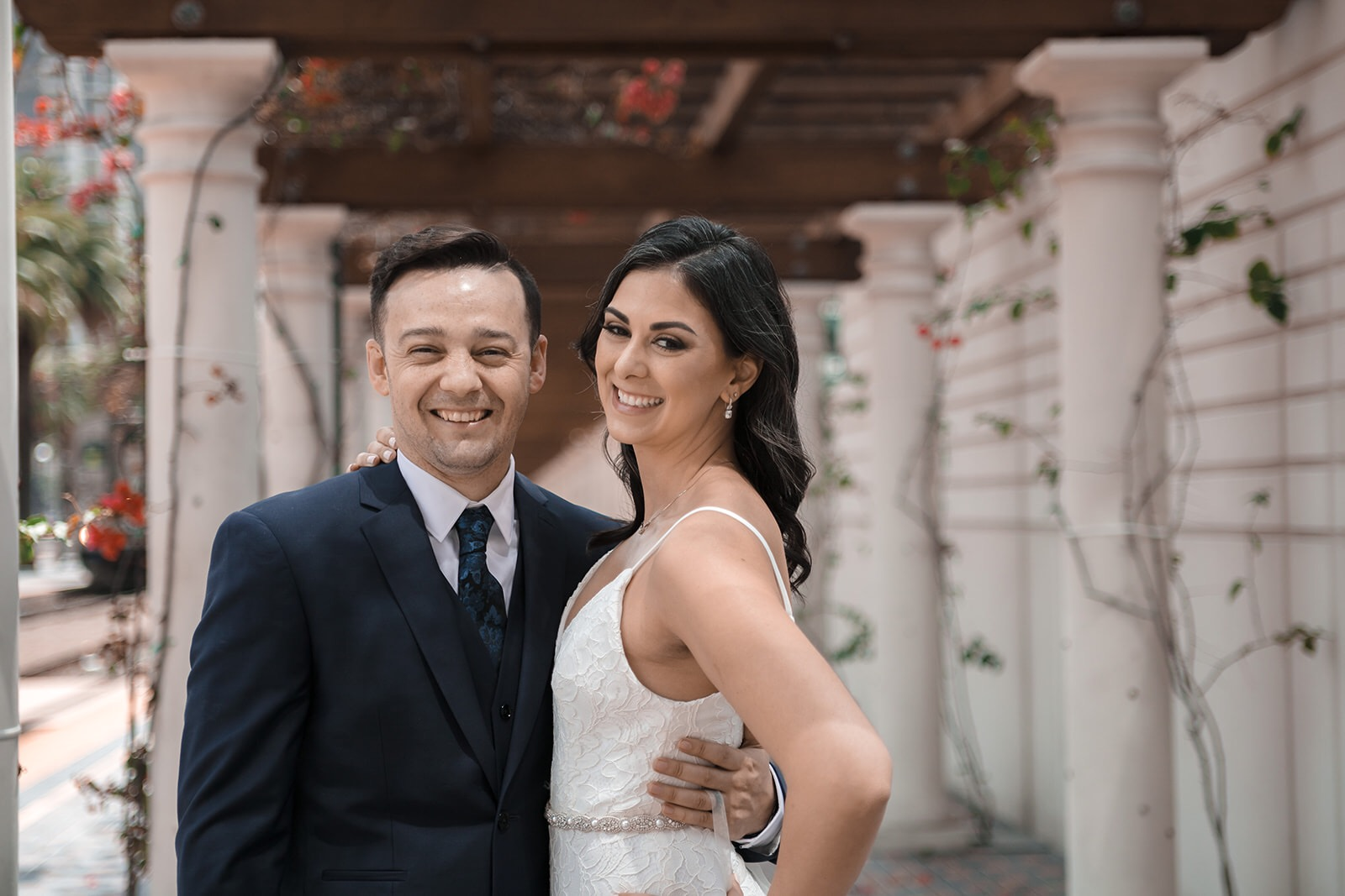 Wedding Photographer captures a couple in San Diego