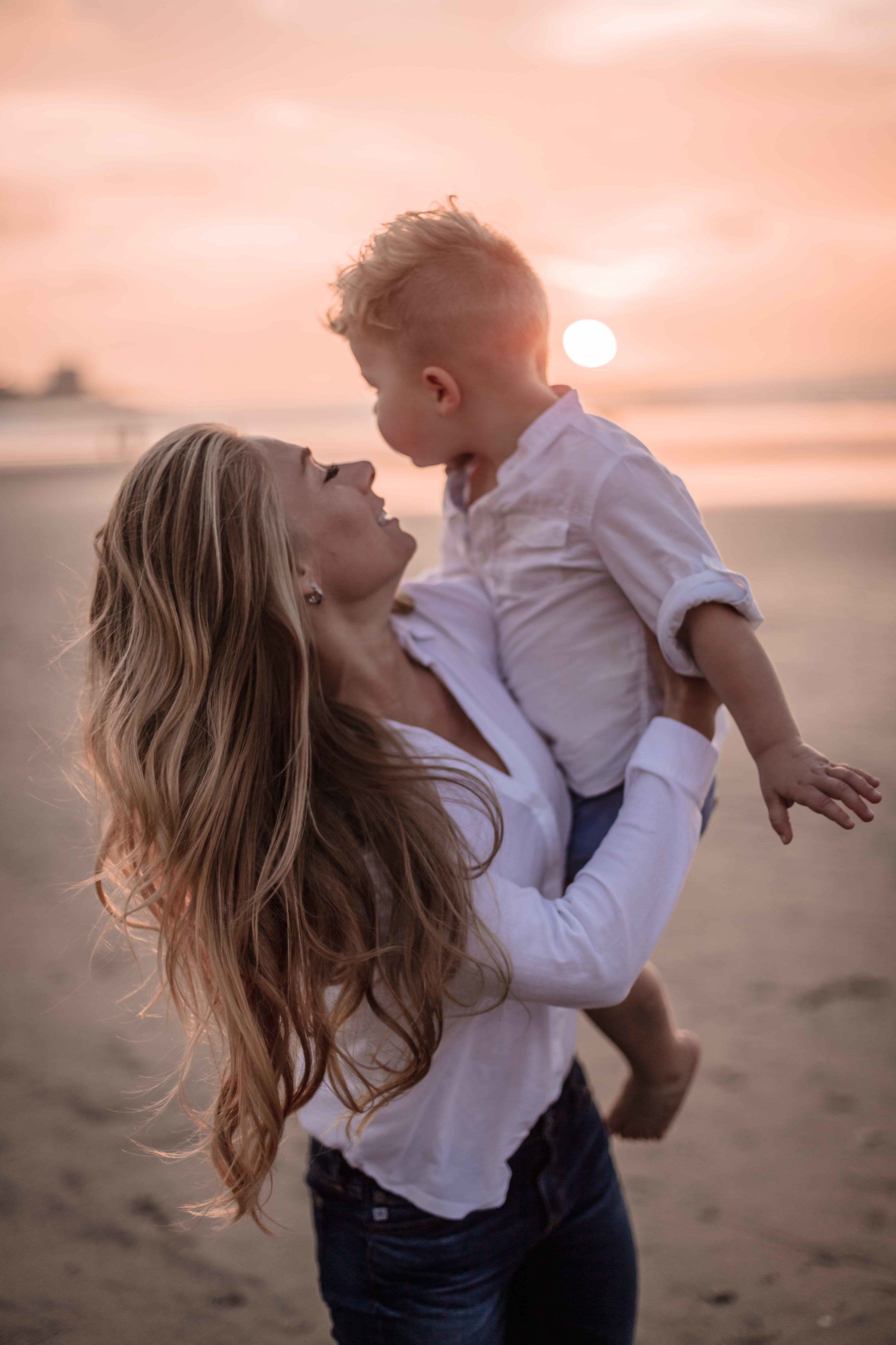 San Diego Family Photographer at the Beach Photography