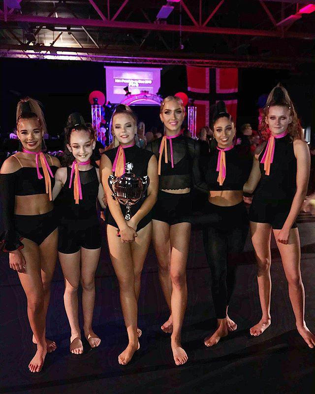 What a team match!!! Top 3 dance school😻✨💃🏽❤️ Well done girls!!!!