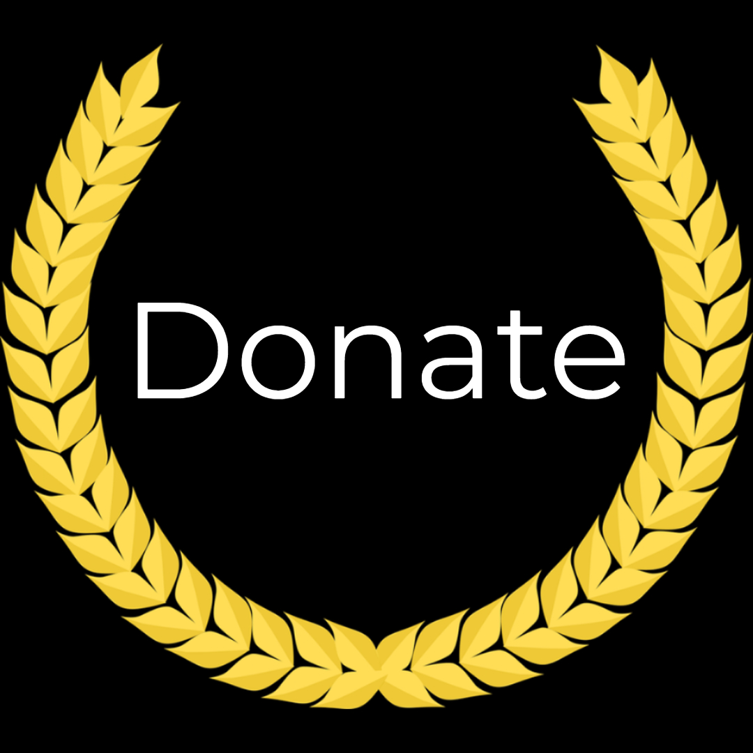 All donations welcome! - We can't do this alone.
