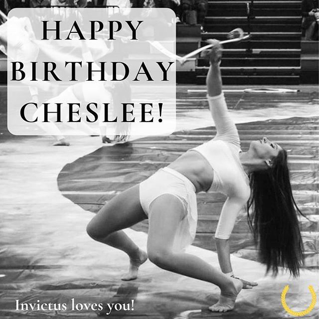 Happy birthday Cheslee! 🥰💛🎉