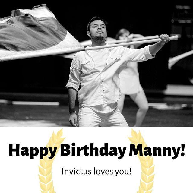 Happy birthday Manny! 😍🥳 . . . Photo by @musicandmarching @zach_ashcraft