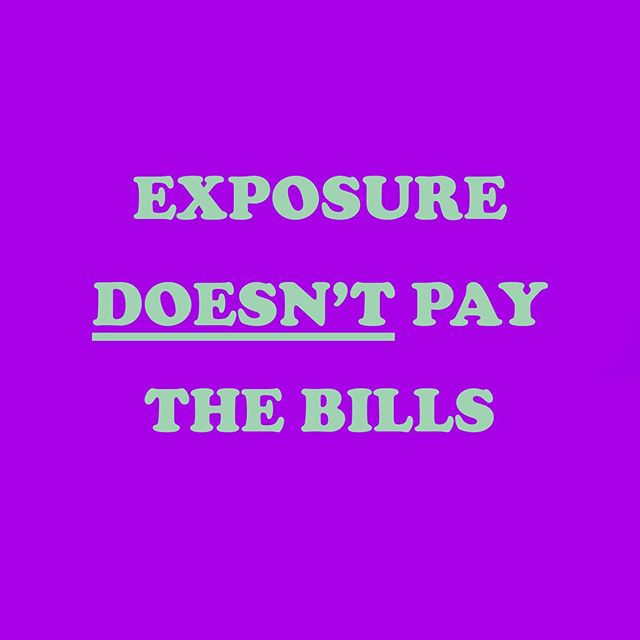 I had a little rant on my stories yesterday about brands and people constantly approaching me to 'sponsor' their events by dashing them my products away for free in exchange for exposure. I was blown away by how many of you resonate and in different fields of work too! We can all agree that exposure doesn't pay the bills. If you want to support a small business, you're going to have to dig in your pockets and buy so I can eat. The @bonitaivieprints sponsorship shop is closed and best believe you won't get a reply if you ask me for freebies in big big 2019. The God that I serve will open doors for me 💅🏾 Rant over 😂 Happy Friday y'all!
