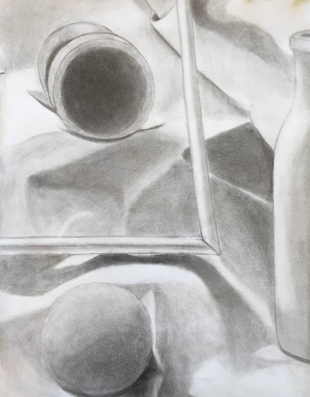 Anqi  Pencil on Paper