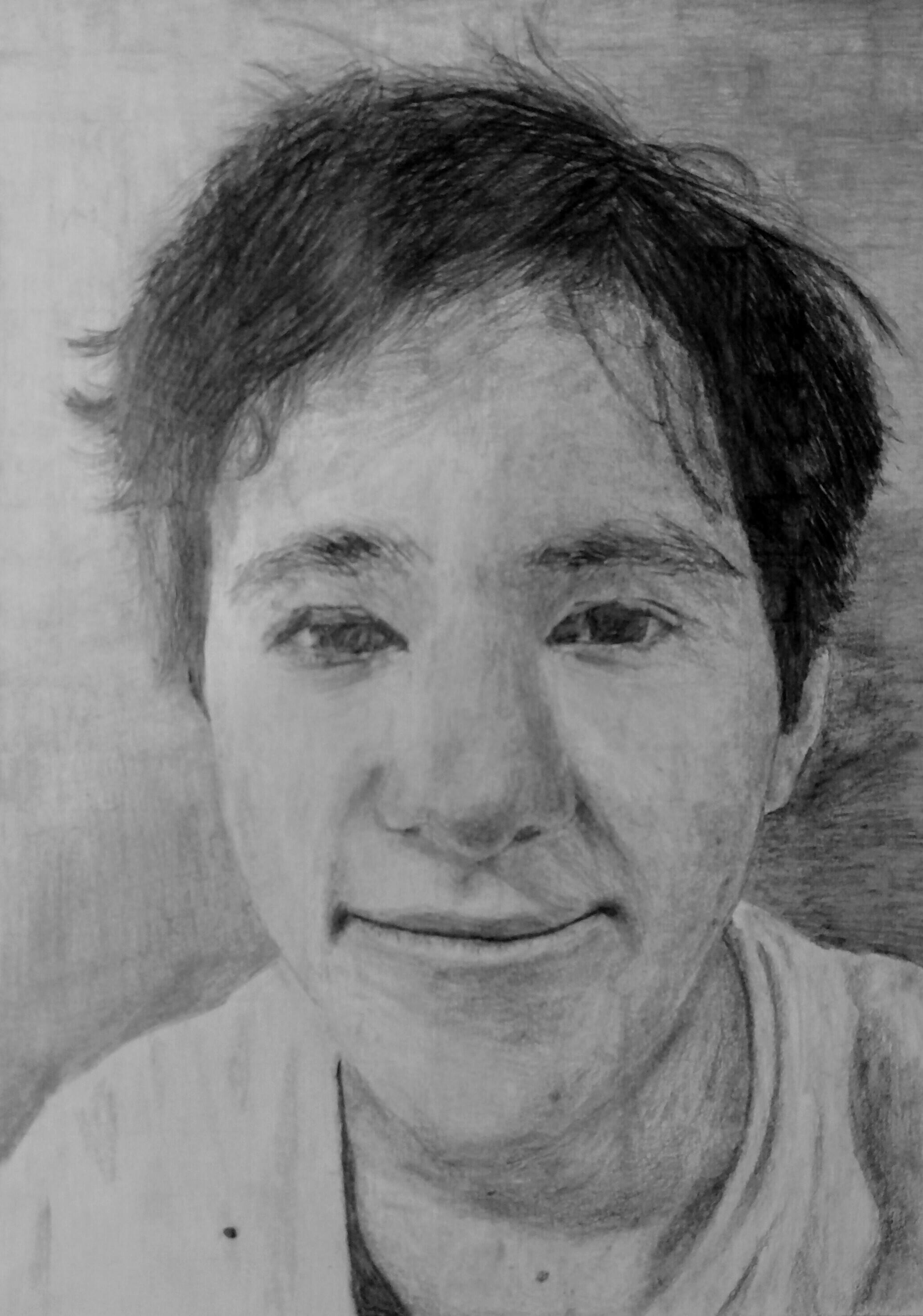 Eli  Grade 8  Pencil on Paper