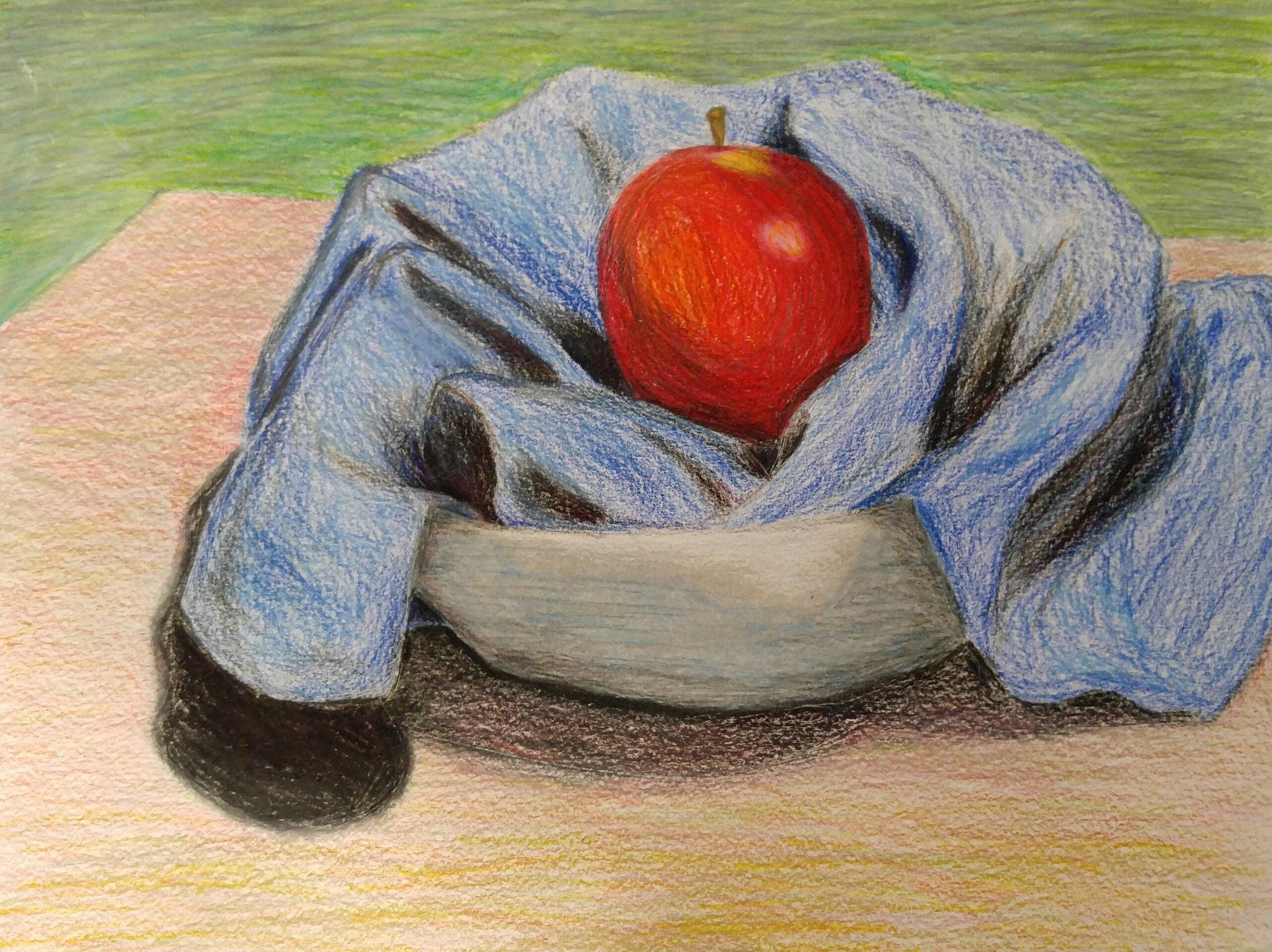 Eli  Grade 8  Colored Pencil on Paper