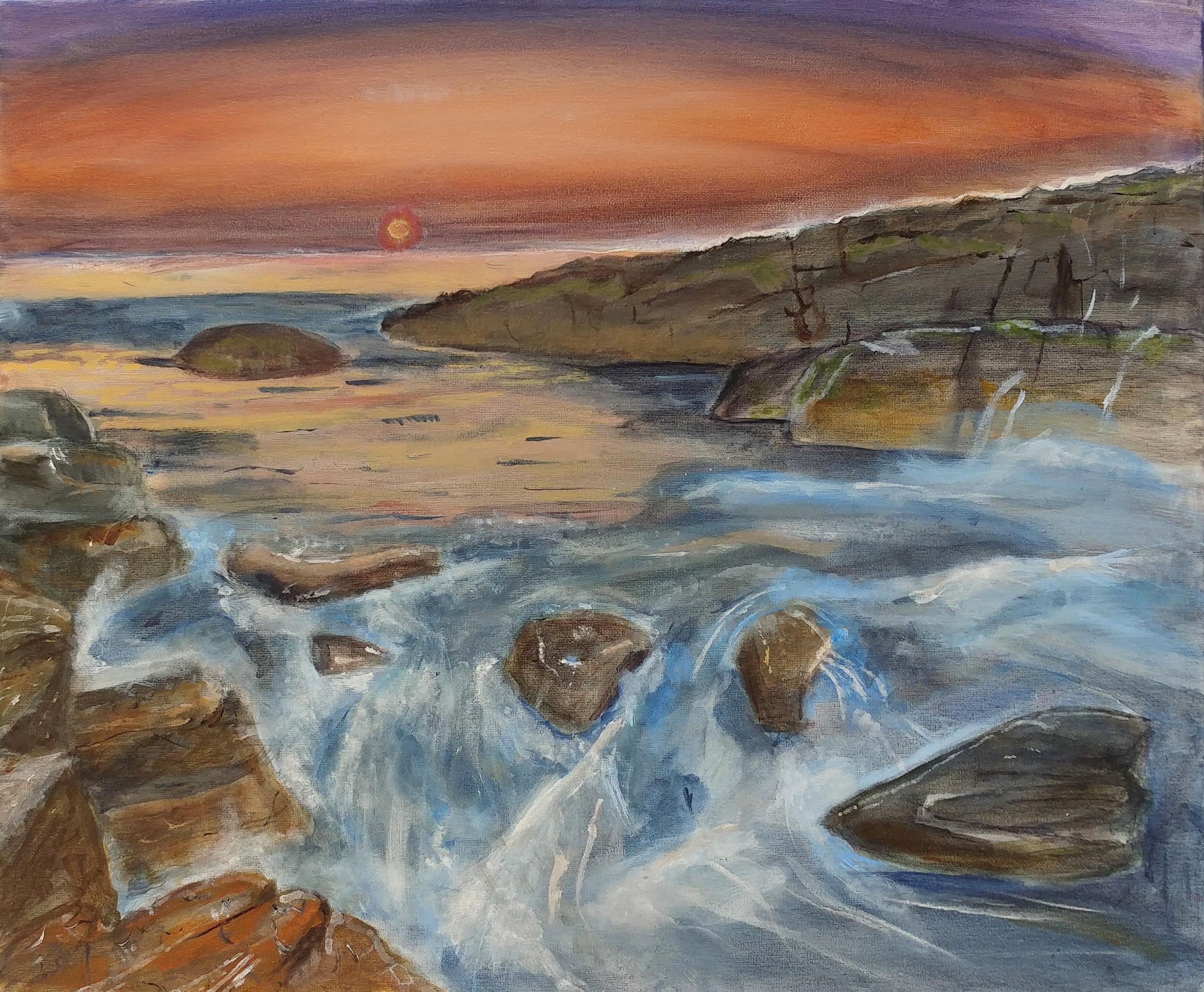 Cordelia  Grade 8  Acrylic on Canvas