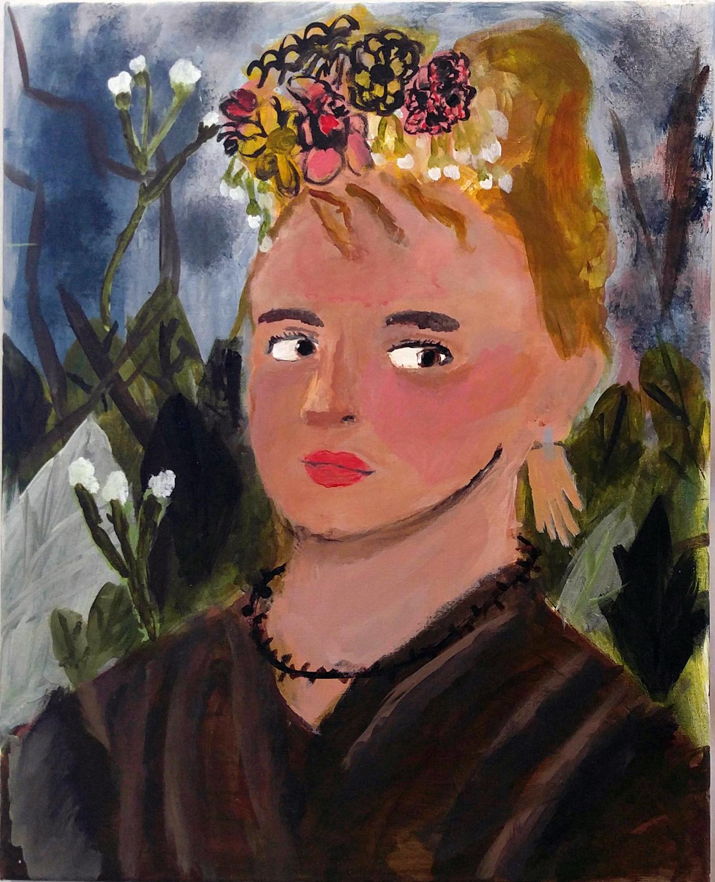Cordelia  Grade 6  Acrylic on Canvas