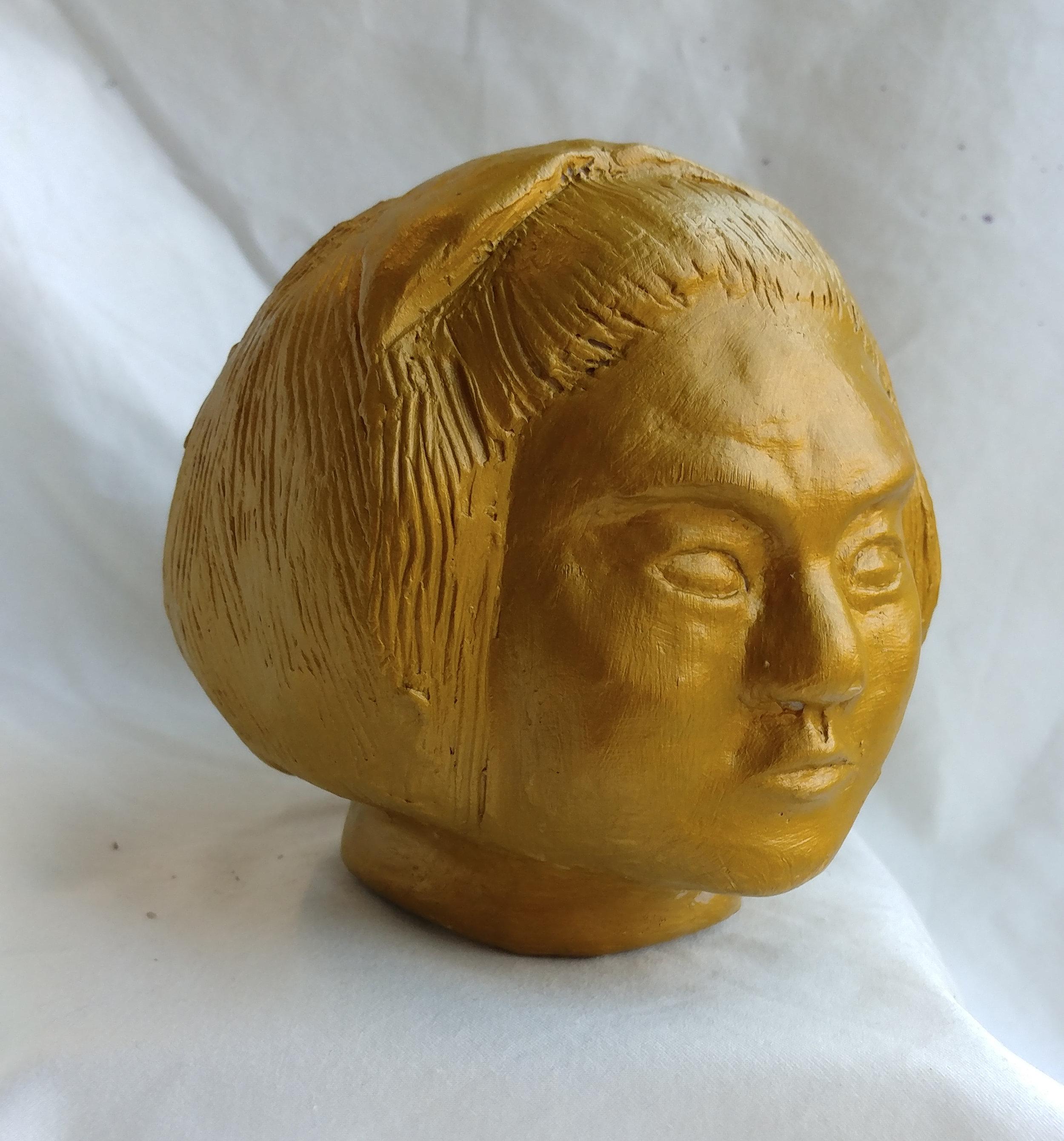 Auryn  Grade 8  Acrylic on Clay