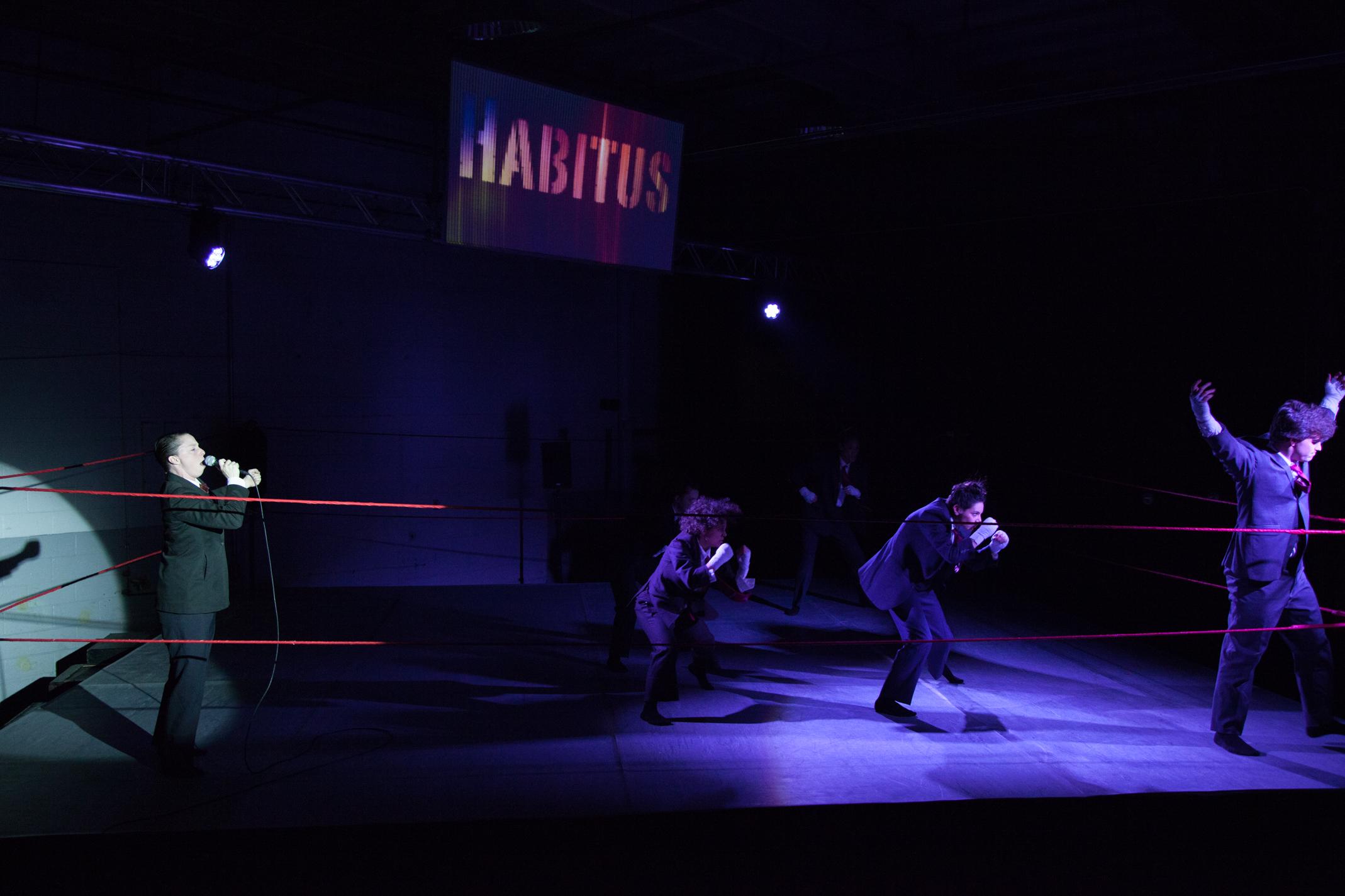 Habitus - Co-Director / Scenic Design / Lighting Design / Projection Design