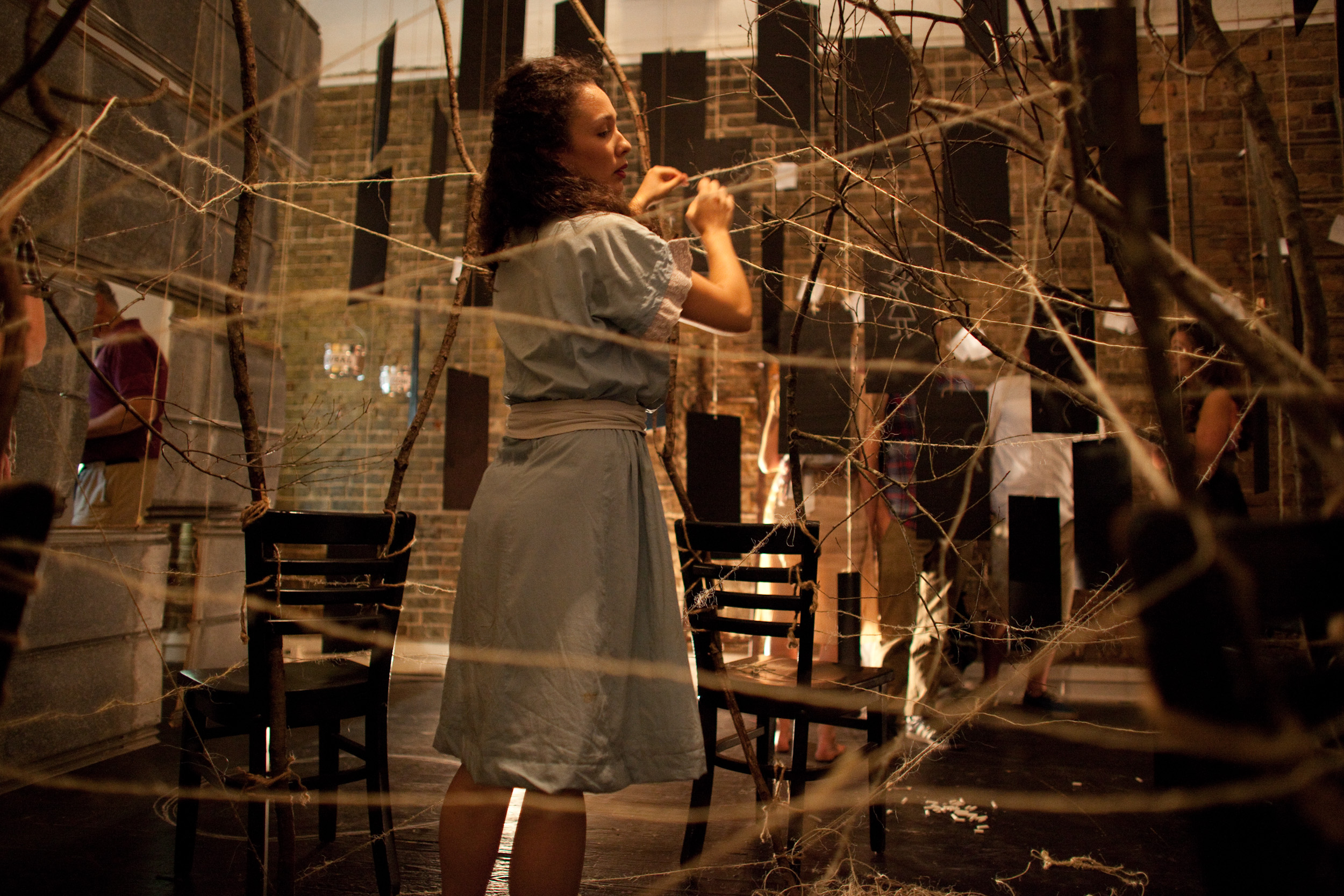 Secrets I Never Told My Mother (installation) - Co-Director / Lighting Design / Projection Design