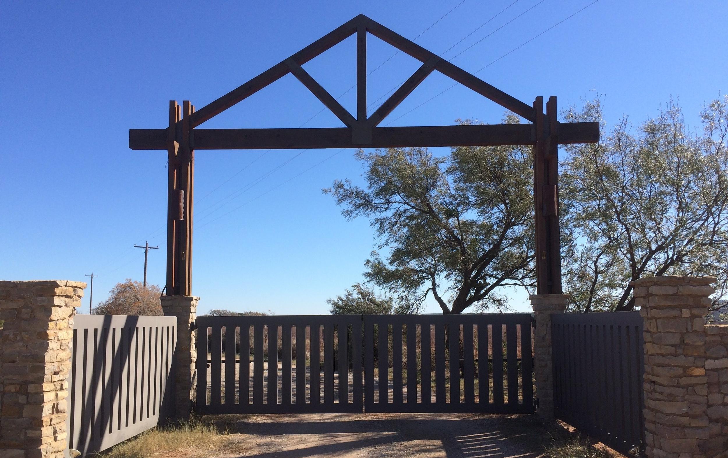 All American Door Abilene Texas Garage Door Custom Gate