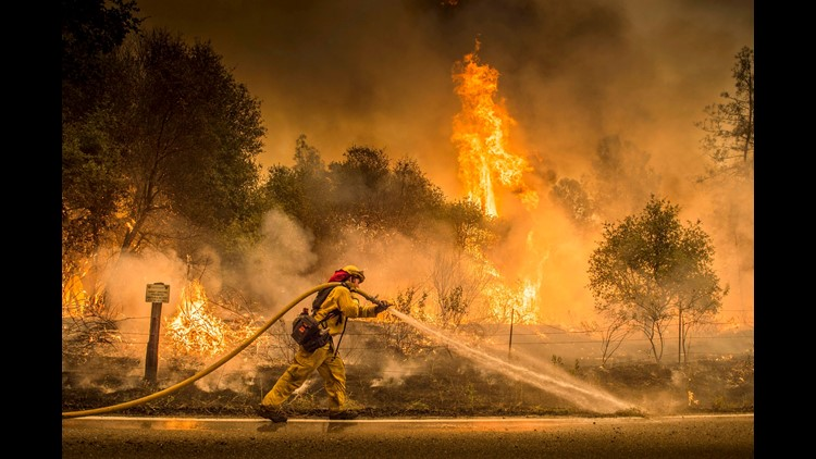 The alarming rise in devastating fires is one indication that global warming is real.