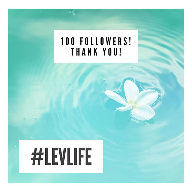 Thank you to our 100+ followers! We appreciate all the 💗 and the support! Stay tuned! #levlife #thankfulthursday #floweressencewater #levridgebeverage #madeinraleigh