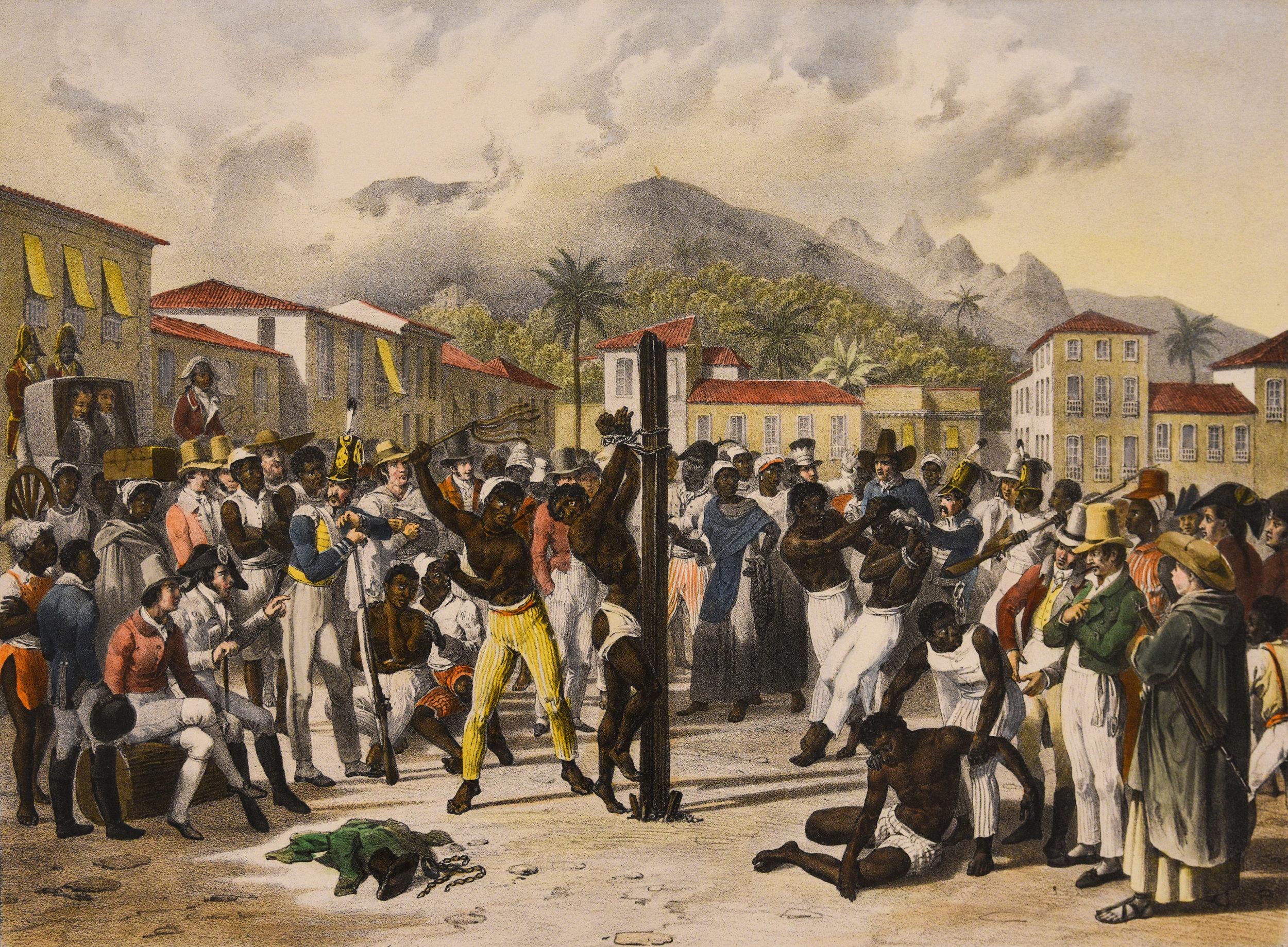 Slavery in South America