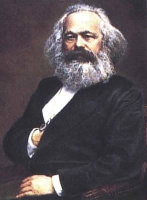 Karl Marx - (1818-1883), part sociologist, part economist, part historian, part philosopher, part revolutonary, AND a working journalist. Marx is best known for his