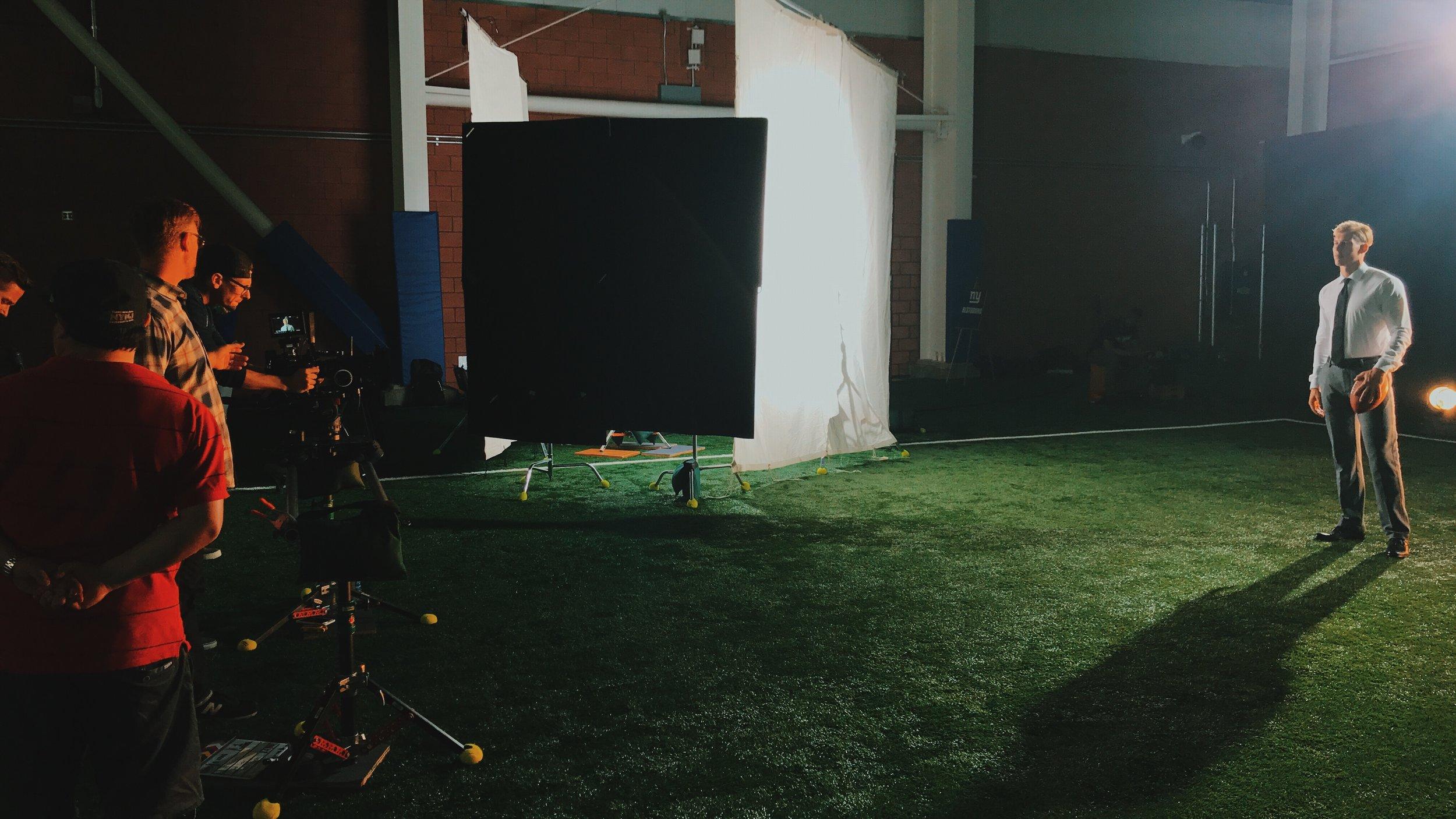 New Jersey Video Production - Hologram Visuals - Van Heusen - BTS - 2