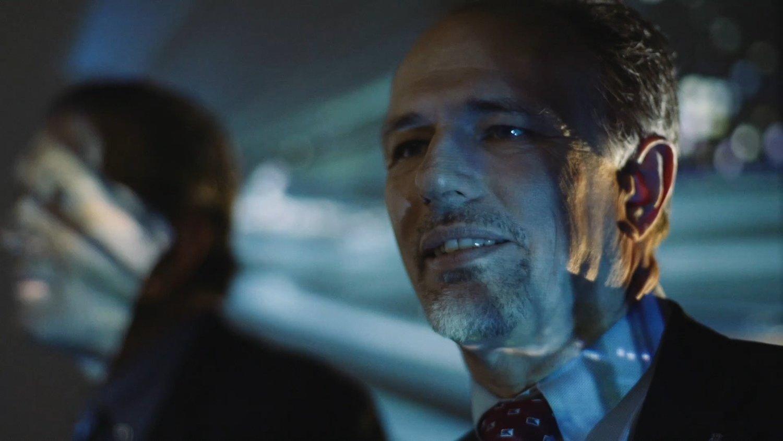 CLOSE-UP SHOT OF BOB SCAER, GANNETT FLEMING CEO