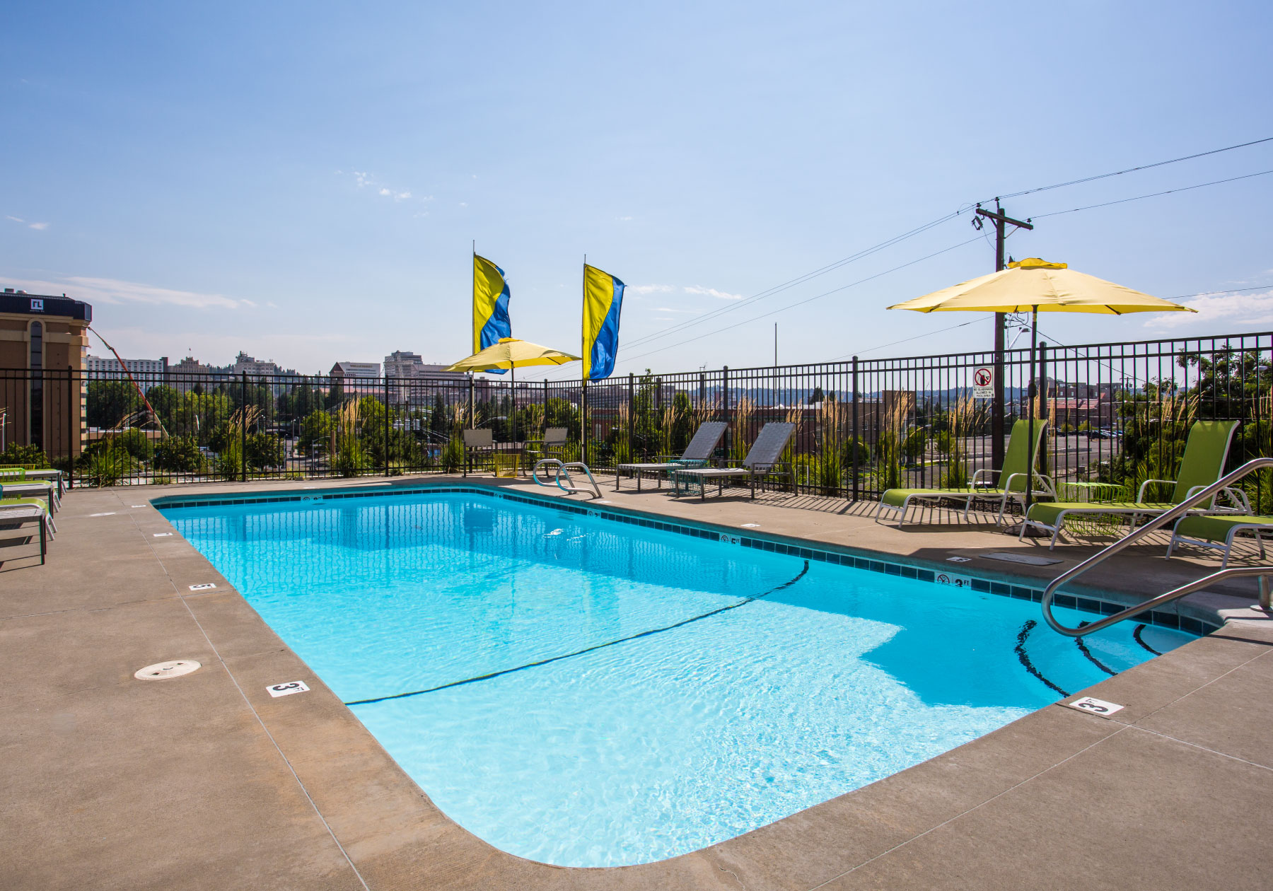 Take a Dip in Your   OUTDOOR POOL