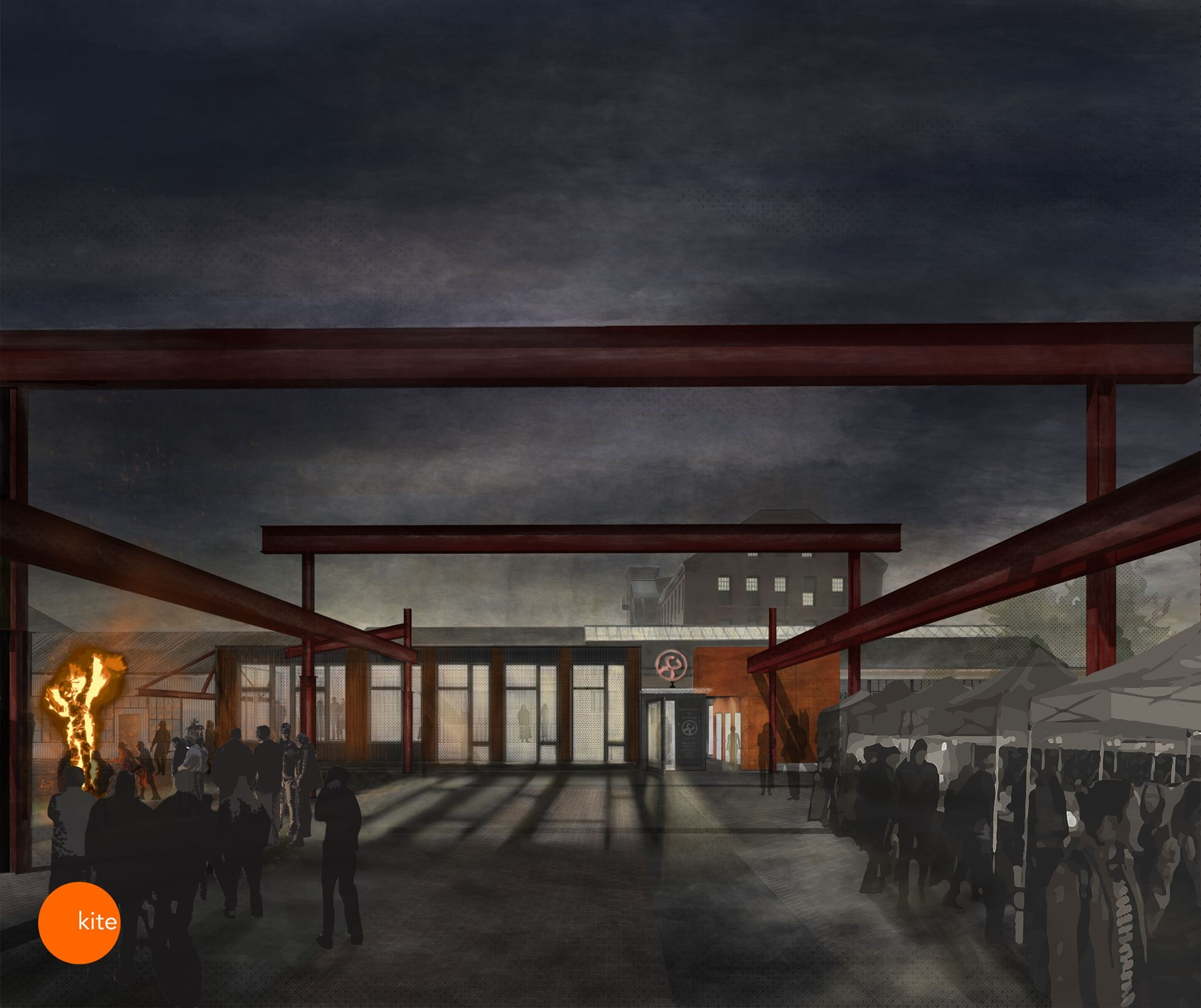 """Don't miss     KITE Architects at DESIGN WEEK RI 2018  ! The team at KITE is presenting an """"Scrappy Meets Savvy,"""" a lunch event on Tuesday, Sept 18. KITE Principals Christine West and Albert Garcia and   Steel Yard   Director Howie Sneider will discuss the design process of the new Steel Yard addition and renovation. See designweekri.com for more info!"""