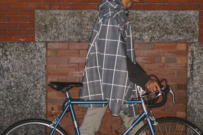 Cleverhood  , Providence  an apparel design studio that makes the   smart and sleek, high-performance street cape  , inspired by the slow bike movement and the simple, elegant way that the bike is affecting broad change in cities.