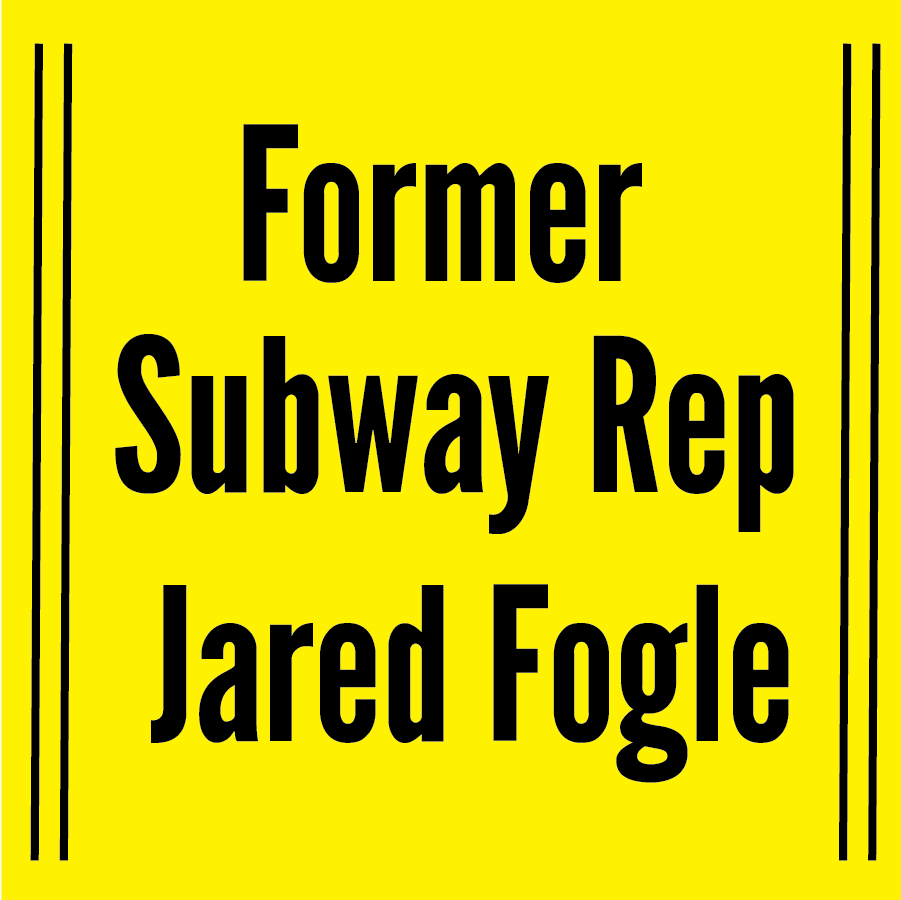 Subway Spokesman sentenceD for Over15 years for child SEX abuse - Jared Fogle pled guilty in federal court to possessing child pornography and traveling to pay sex with minors.