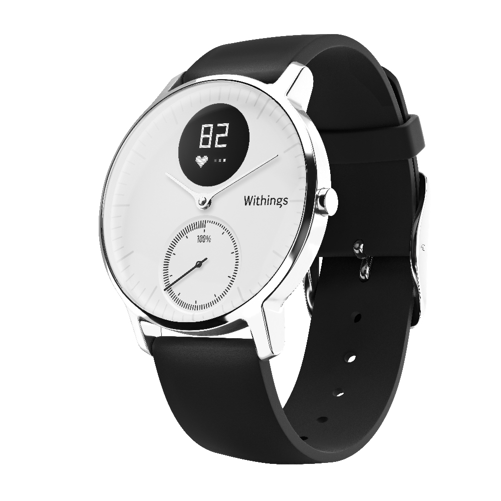 Nokia Steel HR Watch - Steel HR is the first activity tracker with heart rate monitoring to offer a long-lasting battery life of 25 days, all housed in a classic watch style perfect for transitioning from the gym to the office to a night out. Plus stay connected with smartphone notifications that appear right on the watch screen.