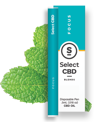 Focus- Peppermint Vape Pen - 100% Pure CBD Oil blended with Peppermint formulated to provide the exhilarating, clarifying benefits of medicinal CBD with an herbal lift.Ingredients: CBD Oil, Fractionated Coconut Oil, Peppermint Essential Oil