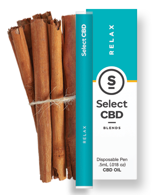 Relax- Cinnamon Vape Pen - 100% Pure CBD Oil blended with Cinnamon for release at the end of a stress-filled day or grounding to help you start a new one.Ingredients: CBD Oil, Fractionated Coconut Oil, Cinnamon Essential Oil