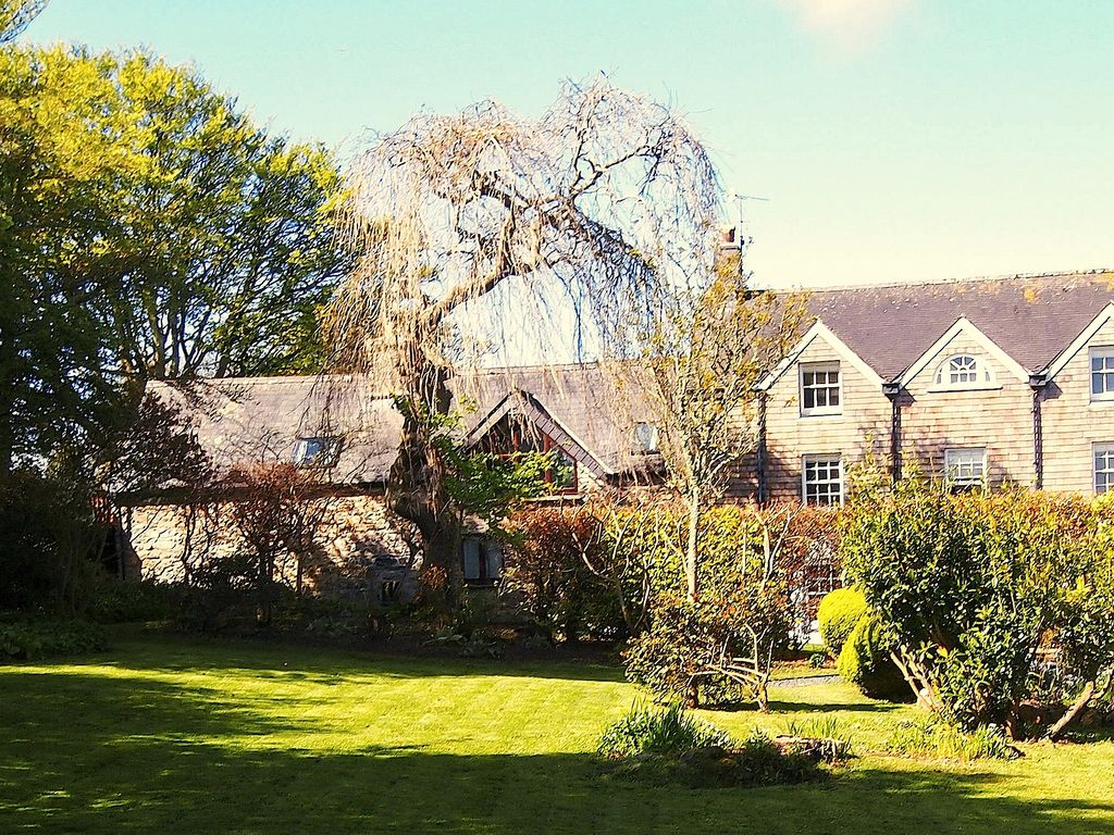 View of the cottage from our garden