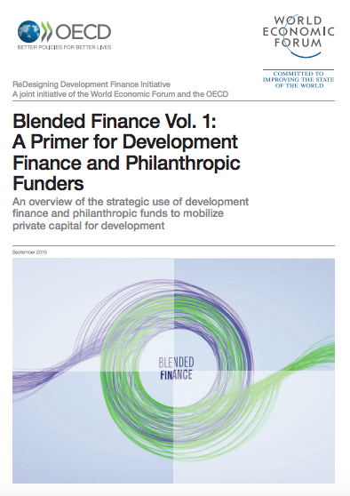 Blended Finance Toolkit (WEF, 2015)