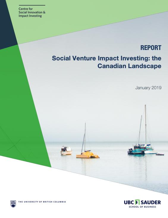 Social Venture Impact Investing Canada