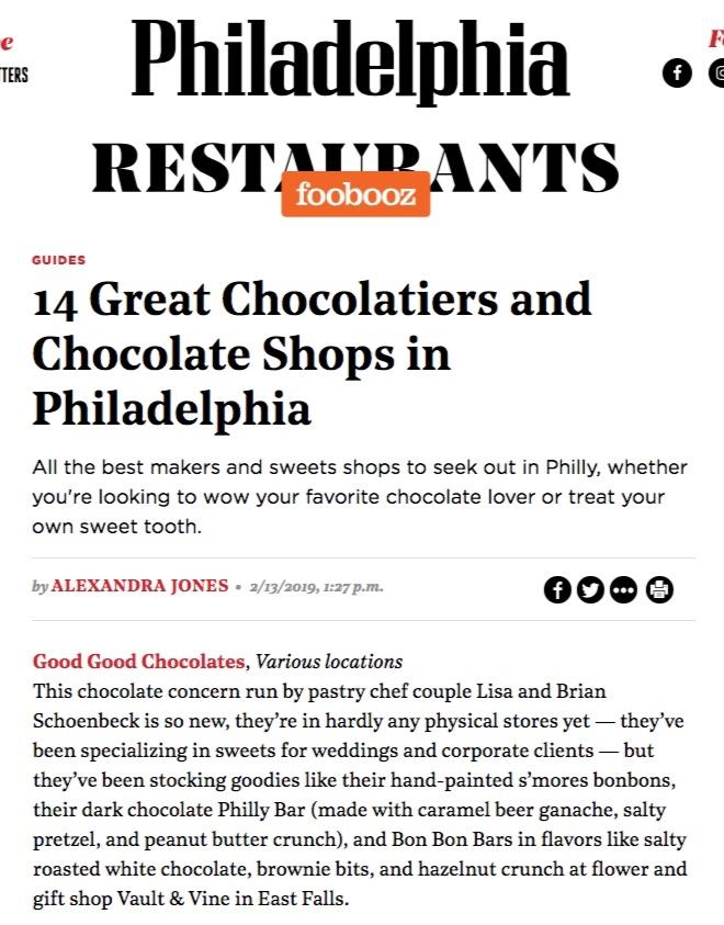 Philadelphia Magazine / Foobooz Newsletter