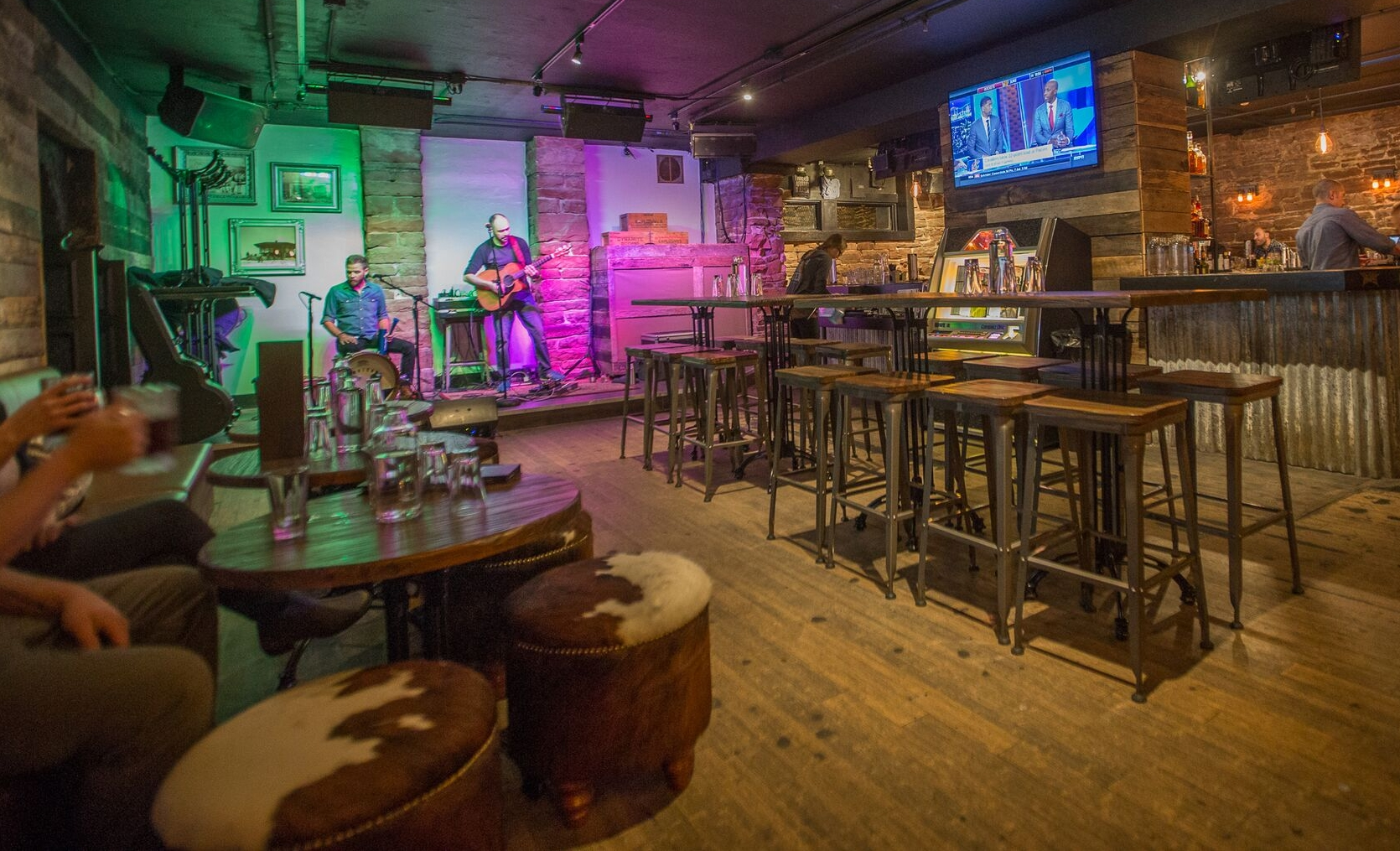 Check our Calendar for live music! We put on a show apres ski or late night.