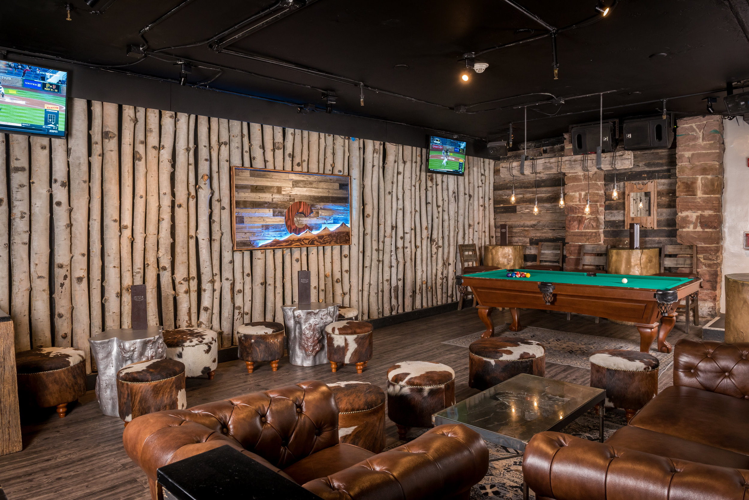 Bring your cue, Buckaroo. Aspen's hustlers know where the only free table in town is at...