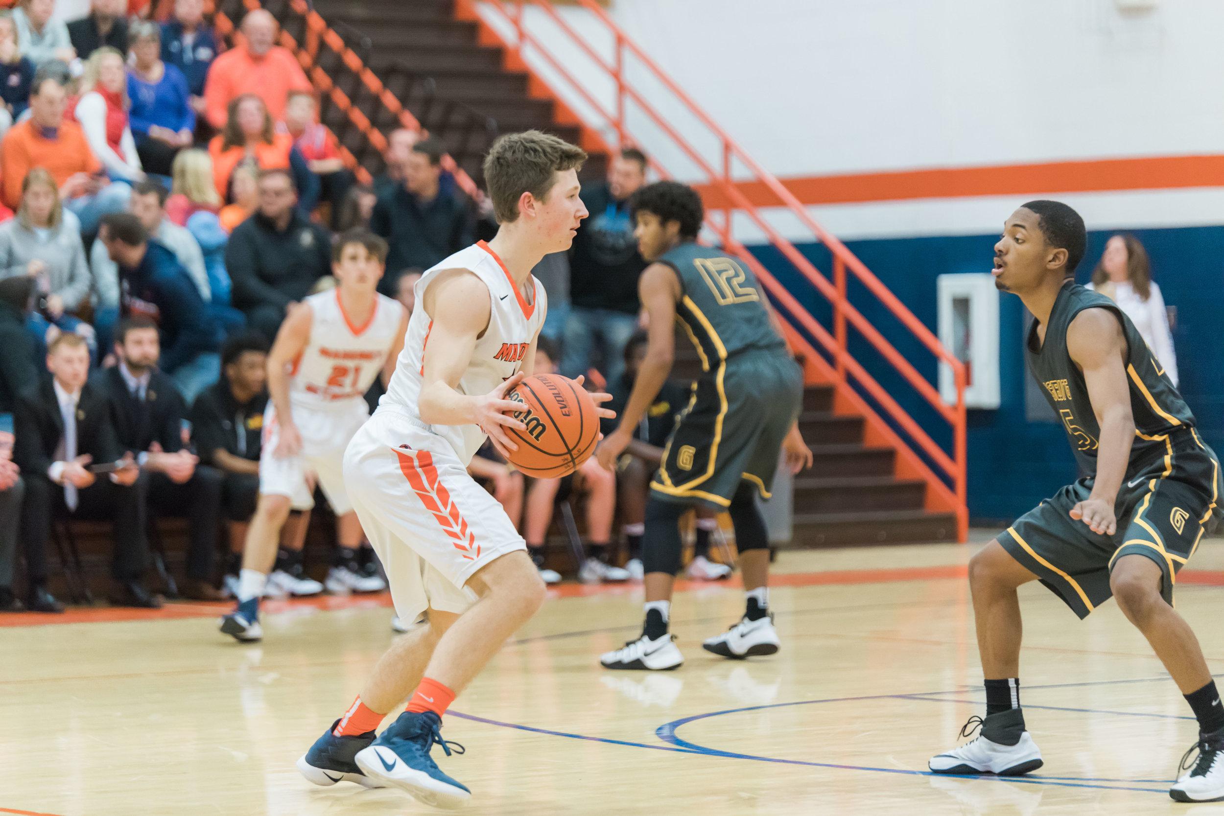 MSHS Varsity Basketball Game