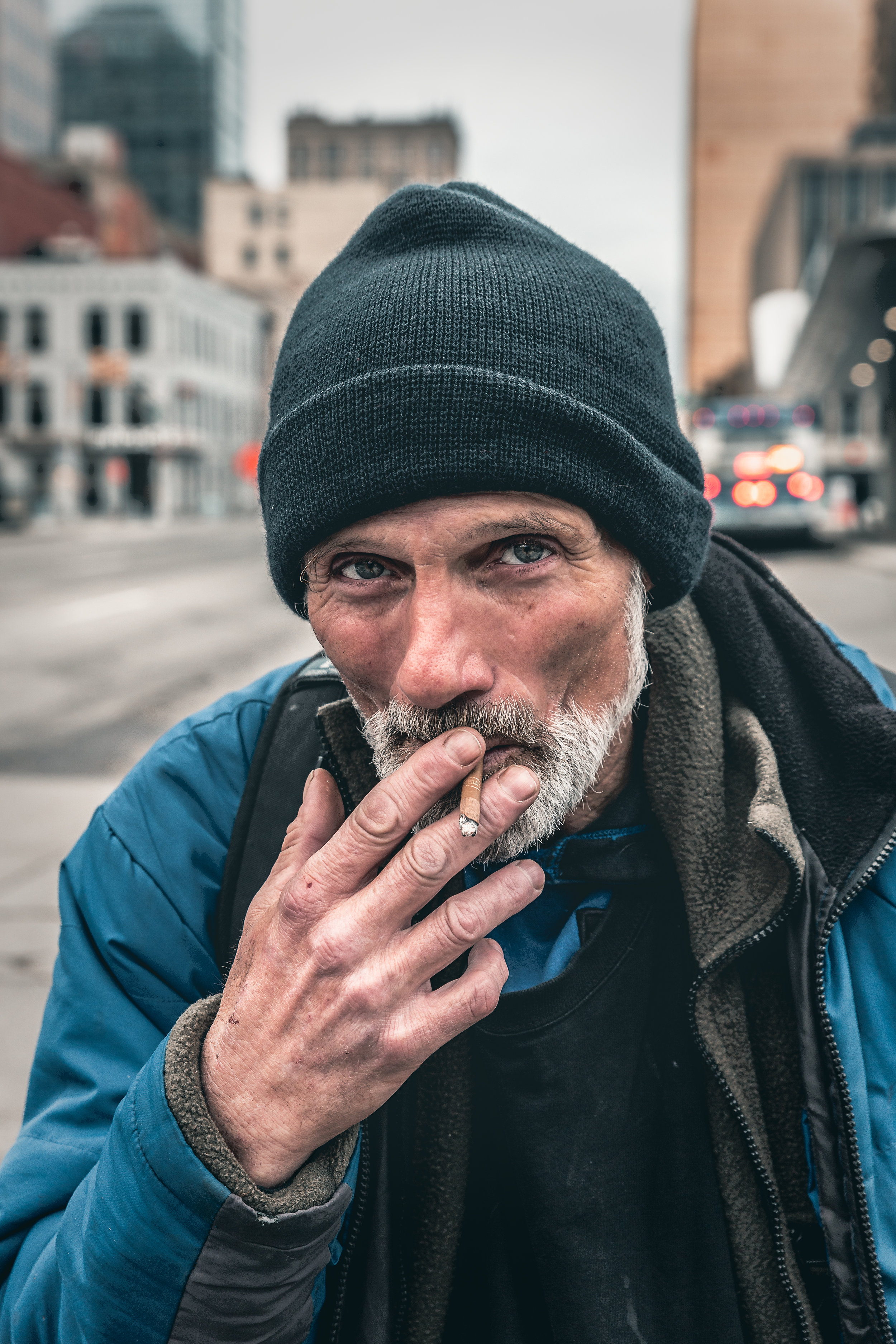 Smoker @ the Bus Stop (Indy).JPG