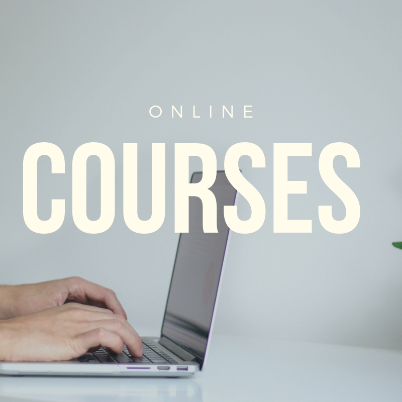 COURSES - COMING SOON!