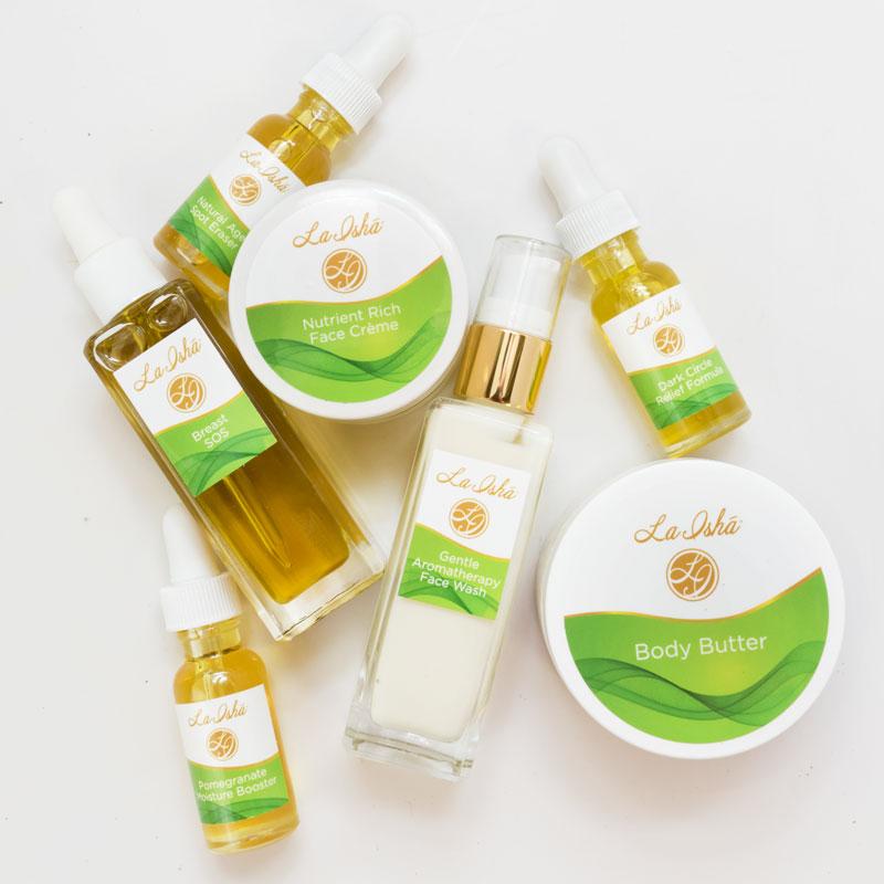 Skin Care Label Design