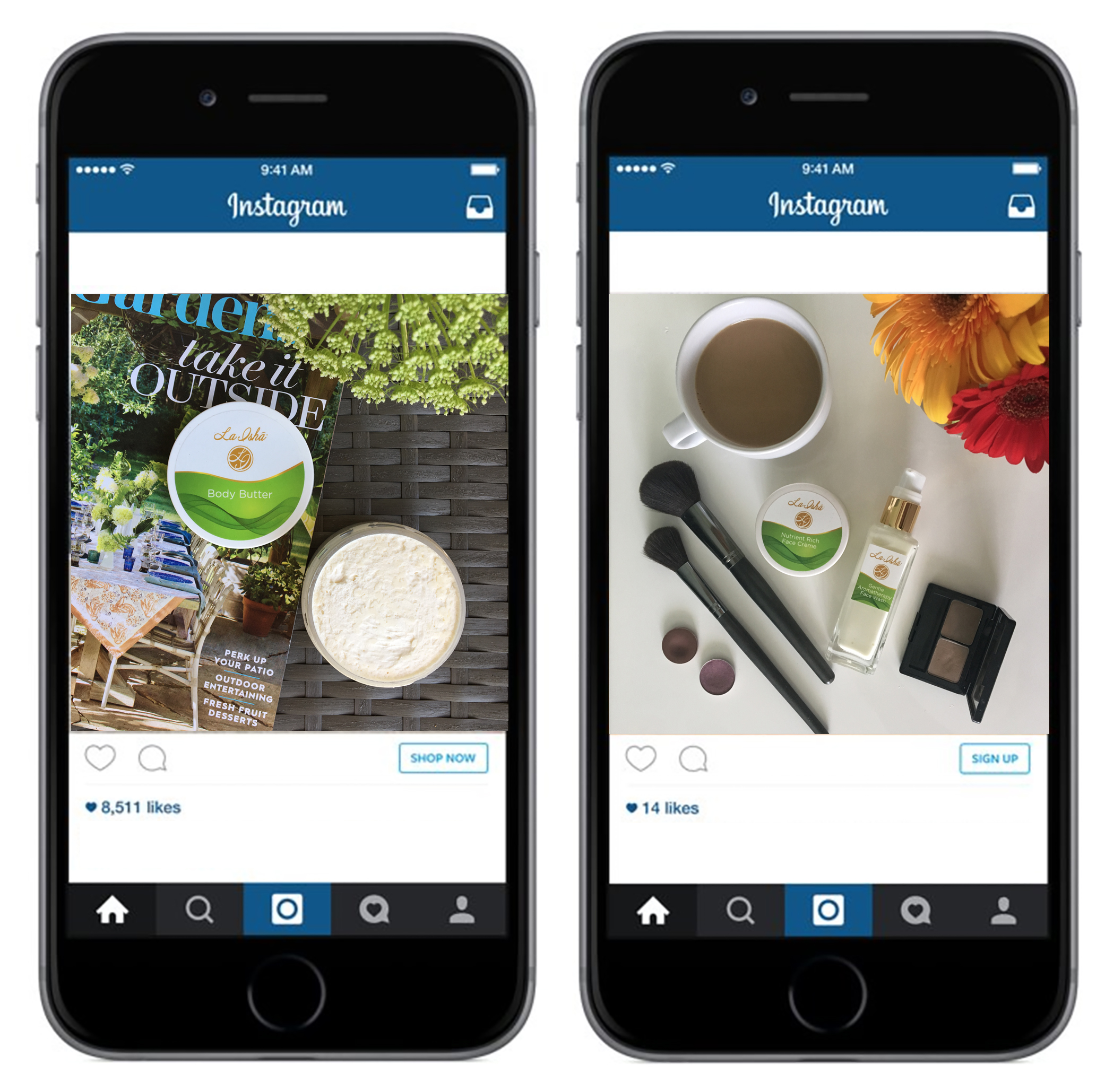 Instagram Photography and Creative Direction for Social Media